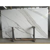 Buy cheap 24x48 Natural Stone Slabs Calacatta Countertop Kitchen Bench Top Vanity Tops product