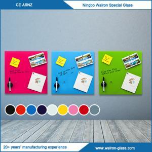 Buy cheap Whiteboard de vidro magnético, placa do Seco-Erase product