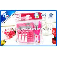 Buy cheap Pink / Green Mini Office Stationery Set With Plastic Bag Package product