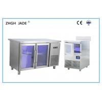 Buy cheap Commercial Blue Light Inside Refrigerator Solid Door With OEM Services product
