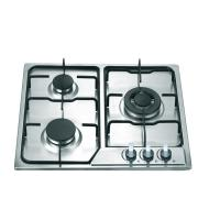 Buy cheap Stainless Steel 3 Burner Gas Hob , Built In Three Burner Gas Stove Accurate Control product