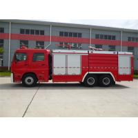 Buy cheap Diesel Fuel Vacuum Tanker Fire Truck 6350mm Wheelbase With Rear Mounted Pump product