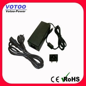 Buy cheap CCTV/ノートのための5.5mmX2.1mm 12V 4Aの切換え力のアダプター100-240 AC product