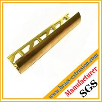 Buy cheap C38500 CuZn39Pb3  CuZn39Pb2 CW612N C37700 punched holes brass extrusion profiles section product