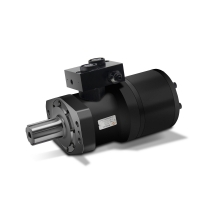 Buy cheap One Year Warranty Hydraulic Motor KM4 With Mounting Flanges / Shafts / product