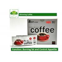Buy cheap Natural Plant Extract Brazilian Slimming Coffee , 5 In 1 Fat Burning Coffee OEM / ODE product