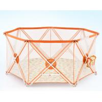 Buy cheap Adjustable Portable Baby Safety Fence In Orange , Eight  panel product