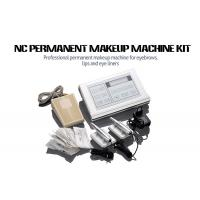 Buy cheap Stainless Steel Permanent Makeup Tattoo Machine Kit With Cartridge Needle product