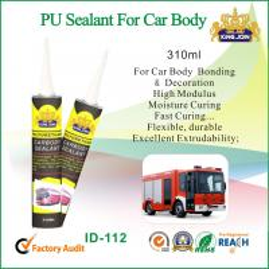 Heat Resistant Gun Grade Polyurethane Sealant For Car Body Adhesive Bonding