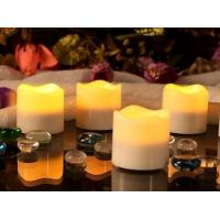 China Fancy LED tealight candle/4pcs per set ,6hrs timer on sale