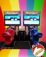 "China TT MOTO 42"" LCDのゲーム・マシン wholesale"