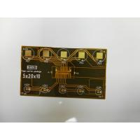 Buy cheap Customize single side flexible printed circuit board with contact pads product