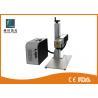 Marqueur à grande vitesse de laser de fibre, machine de gravure de numéro de série de refroidissement à l'air