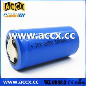 Buy cheap batería recargable ICR26500 3.7V 3200mAh product