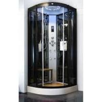 Sliding Open Style Corner Steam Shower Bath Cabin Spa Shower Units With Radio
