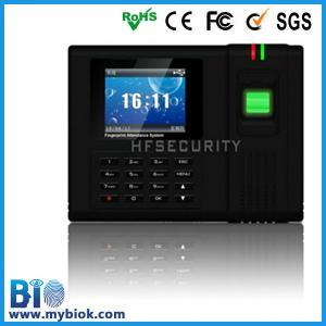 Bio temps métrique des employés d'écran de TFT de couleur de dispositif gardant l'enregistreur Bio-H6