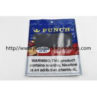Buy cheap Plastic Self Sealing Humidity Fresh Cigar Packaging Bag Resealable Ziplock Open And Close product