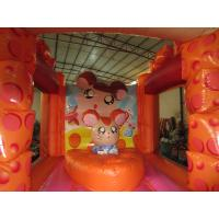 Quality Lovely Kids Inflatable Bounce House / Mini Size Inflatable Cheese bouncer for sale