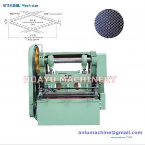 安陸Huayuの専門の高速によって拡大される金属の網機械JQ25-16モデル