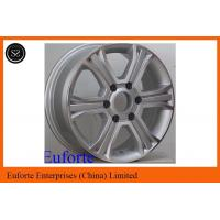 Buy cheap 16inch 6 Spoke 4 x 4 Off Road Wheels 6 x 130 Silver Machine Face SUV from wholesalers