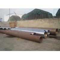 Buy cheap 44'' Large Caliber Hot Rolled Steel Pipe , Round Steel Tubing Wall Thickness 140mm product