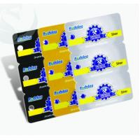 Buy cheap Unique Square Plastic PVC Business Cards 3-in-1 0.3mm-1.0mm Thickness product