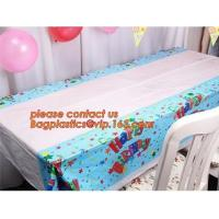 Buy cheap Creative Boys Girls Birthday Party Tablecloth Plastic Disposable Outdoor Kids Supplies Accessories, happy birthday party product