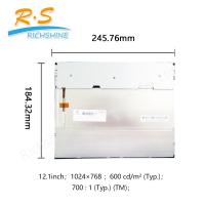 Buy cheap Pantalla industrial del CMO LCD, pantalla de visualización del panel LCD para 12 from wholesalers