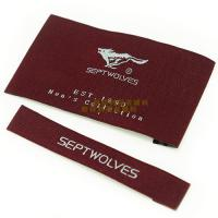 Buy cheap Garments Woven Labels Small Quantities , High Density Woven Apparel Labels from wholesalers