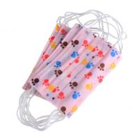 Buy cheap High Elasticity Ear Loop Disposable Kids Mask Non Woven Melt Blown Fliter Cloth product
