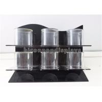 China Jewelry Store Countertop Retail Displays 3 - Bar Acrylic Bracelet Display Handmade wholesale