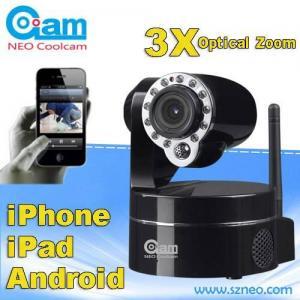 Buy cheap 無線屋内保証ipのカメラ3xの光学ズームレンズ私達の特許を取られたモデル product