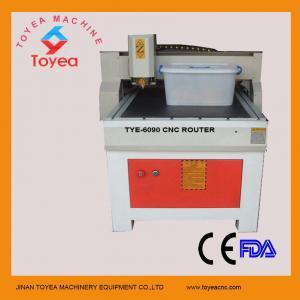 Buy cheap Modificado para requisitos particulares haciendo publicidad de la máquina de grabado del CNC TIE-6090 product