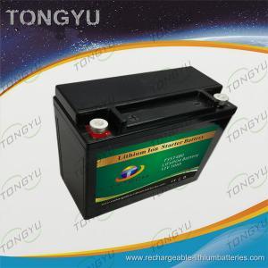 China YB16-B / YB16L-B LiFePO4 Lithium Ion Starter Battery Replacement 12V 10Ah 480A wholesale