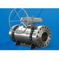 Buy cheap 150LB HE Series Trunnion Mounted Ball Valve Fireproof Antistatic Design product