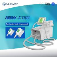 Buy cheap Salon de beauté Cryolipolysis portatif le plus chaud amincissant la machine avec 2 poignées de Cryo Lipo product