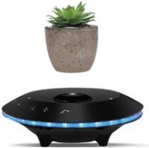 Buy cheap Magnetic Levitating Mini Portable Bluetooth Speakers Unique Suspension Technology product