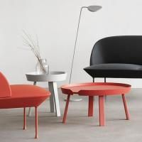 Buy cheap Small Side Round Metal Coffee Table Muuto Around Solid Wood  TableConcise Design product