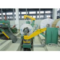 Buy cheap Steel Cut To Length Machine For 2200mm Width 6mm Thickness Material product