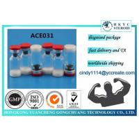 Buy cheap White Lyophilized Peptides Steroids Powder ACE 031 1mg Per Vial 99% Purity product