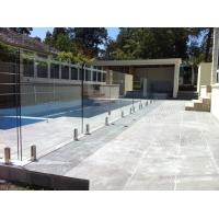 Buy cheap Outside stainless steel glass railing for balcony/staircase/pool fence product