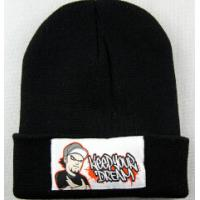 Buy cheap Promotional 100% Acrylic Flat Embroidered Unisex Winter Foldable Skull Cap product
