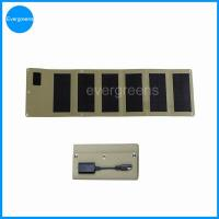 China 12W monocrystal folding solar charger for car battery on sale