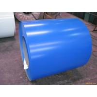 Buy cheap Blue ASTM A653 PPGI Prepainted Galvanized Steel Coil For Roof 0.15 - 2.0mm Thickness product