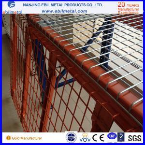 Buy cheap La taille évasée a adapté le Decking aux besoins du client de fil de canal de l'acier 3-4 de Q235b avec la maille 50*50/50*100 product