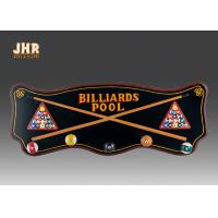 Buy cheap Wood Wall Clothes Hanger Wooden Wall Signs Decorative Wall Plaques Pub Sign Green Color product