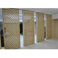 Buy cheap Hall Room Partition Wall  Aluminum Frame Structure Fashion Design Bulb Seal product