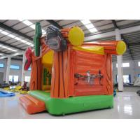 Quality Wild West Big Bounce House Customized , Digital Painting Huge Bounce House for sale