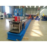 China Tube Roll Former Downpipe Roll Forming Machine With Double Head Decoiler on sale