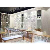 High End Attractive Lighting Jewelry Store Display Cases / Jewelry Store Fixtures